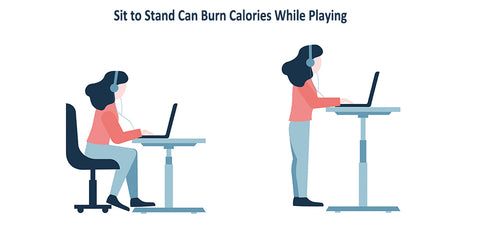 Sit to Stand Can Burn Calories While Playing