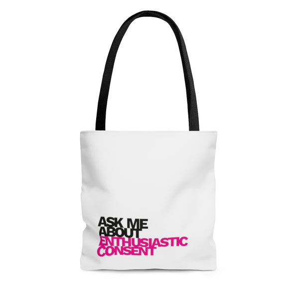 Enthusiastic consent tote