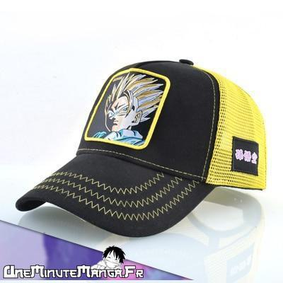 Casquette Gohan - Collection HipHop Dragon Ball-UneMinuteManga
