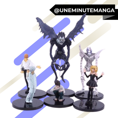 Pack de 6 figurines Death Note-Figurines-UneMinuteManga