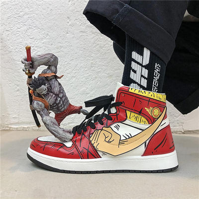 Sneakers Animé One Piece - Chaussures mixtes-Sneakers-UneMinuteManga