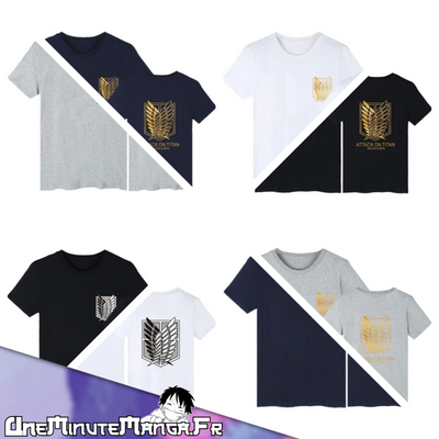 Tee-shirt Bataillon d'exploration - L'Attaque des Titans-T-Shirt-UneMinuteManga
