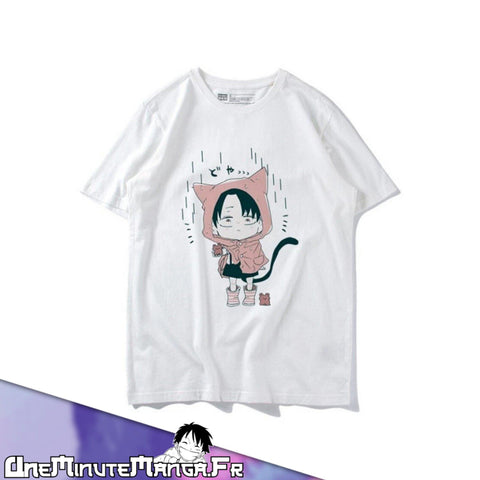 "Tee-shirt Mini Livaï - Collection ""L'Attaque des Titans""-T-Shirt-UneMinuteManga"