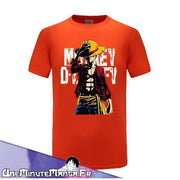 Tee-shirt Monkey D. Luffy - One Piece-T-Shirt-UneMinuteManga