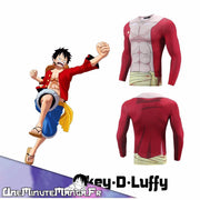 "Tenue ""Fitness"" Luffy-T-Shirt-UneMinuteManga"