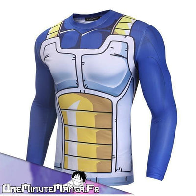 "Tenue ""Fitness"" Vegeta-T-Shirt-UneMinuteManga"