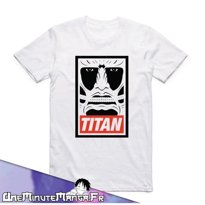 "Titan - Collection ""L'Attaque des Titans""-T-Shirt-UneMinuteManga"