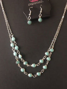 Summer Girl Green Necklace - Paparazzi Accessories - The Bling Peddler