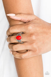 Princess Problems - Red ring - Paparazzi Accessories - The Bling Peddler