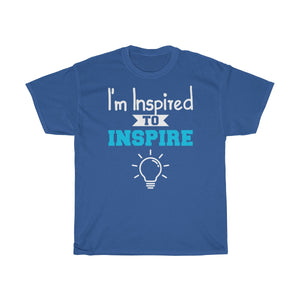 """I'm Inspired"" Cotton Tee"