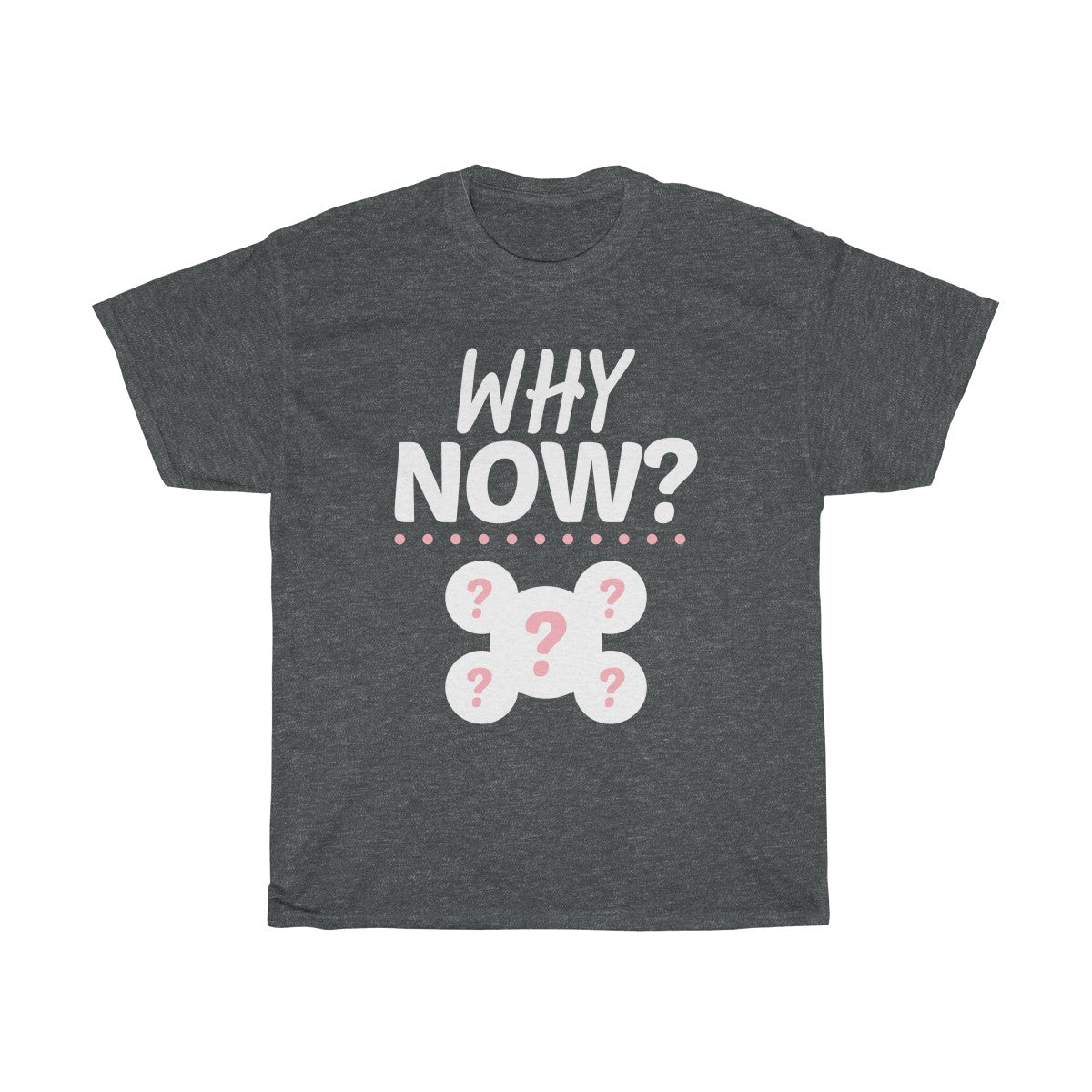 """Why Now?"" Cotton Tee"