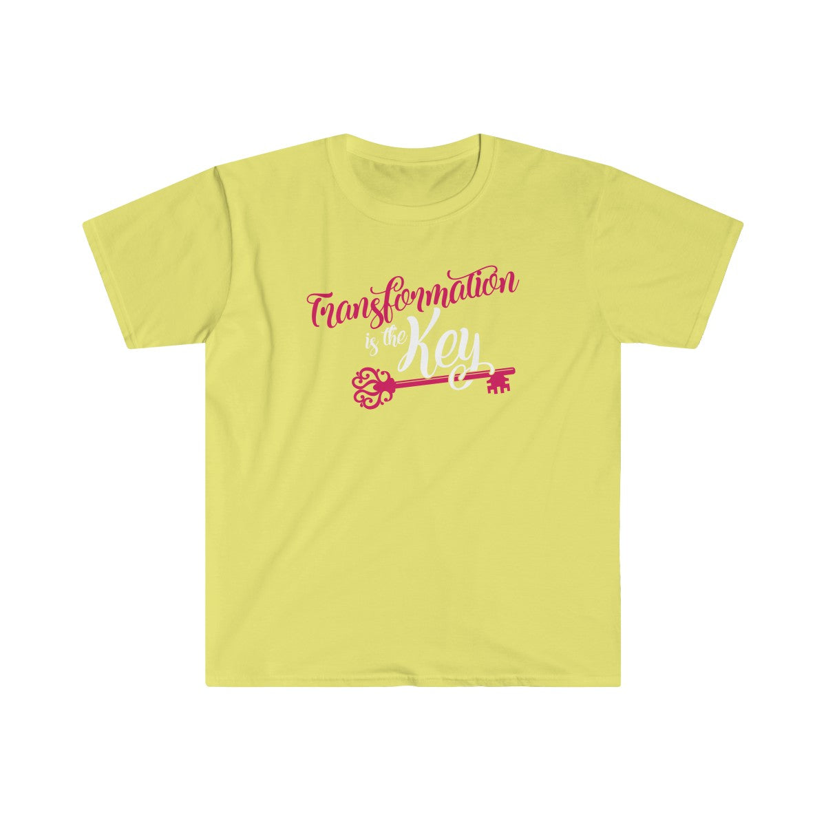 Transformation is the Key Short Sleeve Tee