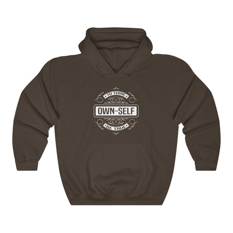 """To Thine Own Self Be True"" Hooded Sweatshirt"
