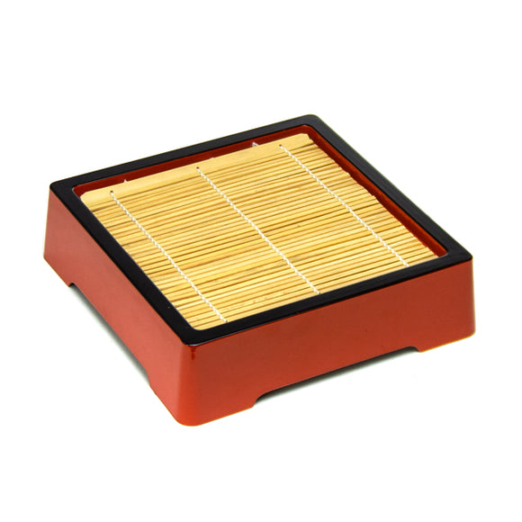 Soba Tray Stackable, Red