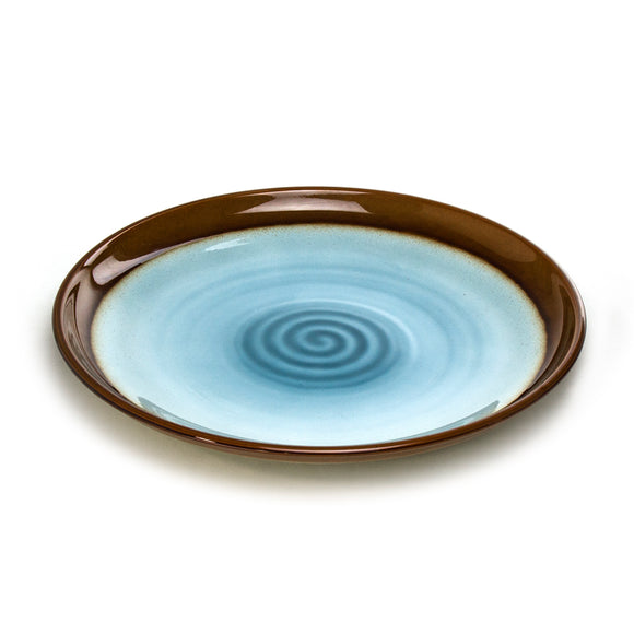 Lacquer Round Platter 13-1/8