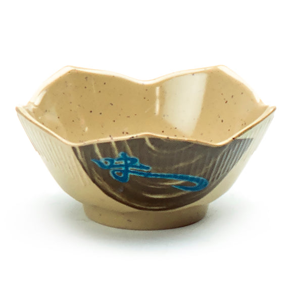 3 oz Melamine Lotus Shape Sauce Bowl, Wei