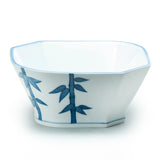 "6"" Square Bowl, Blue Ceramic"