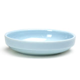 "5-1/2"" Melamine Oval Flat Bowl 9oz, Blue Jade"