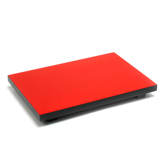 Sushi Geta Lq 24 x 15 x 3.2cm, Red/Black