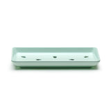Melamine Sushi Case Plate (Light Green) 8-3/4 X4""