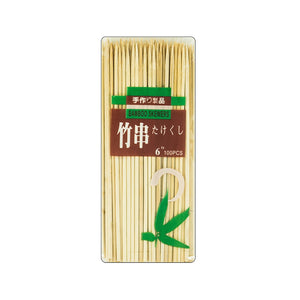 "Skewer 6"" 100pc Bamboo"