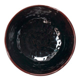 "5"" Melamine Wave Rice Bowl, Tenmoku"