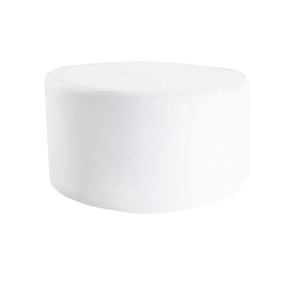 Chef Skull Cap, White