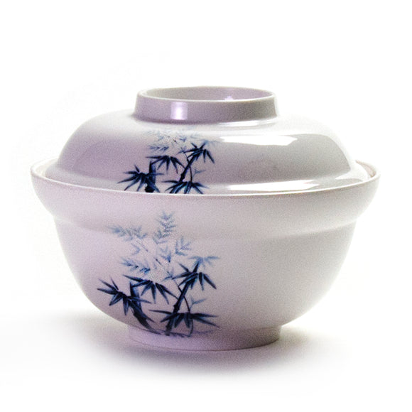Melamine Round Udon Bowl with Cover 6