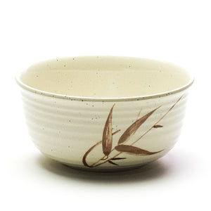 "Melamine Round Udon Bowl 7"", Autumn Grass"
