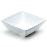 "7-1/8"" Melamine Square Bowl 2-3/4""Deep, White"