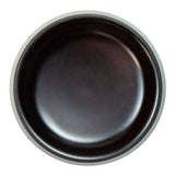 "Plastic Round Soy Sauce Bowl 3-1/4"", Brown"