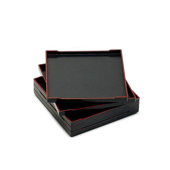 Square Stackable Lacquer Tray 5-1/4