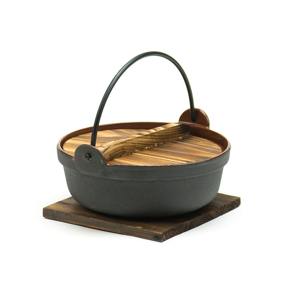 Nabe Pot w/Lid & Base Ir 6.75