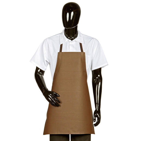 Adjustable Heavy Duty Vinyl Bib Apron, Waterproof, 26