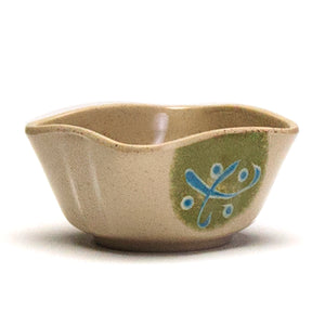 "Melamine Square Sauce Bowl 3-1/2"", Green"
