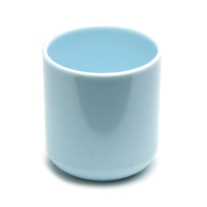 "2-7/8"" Melamine Teacup, Blue Jade"