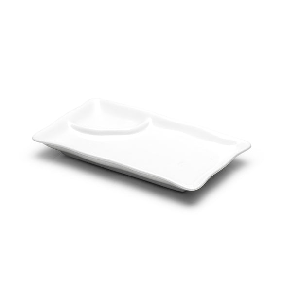 2-Compartment Plate 8