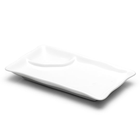 2-Compartment Plate 10
