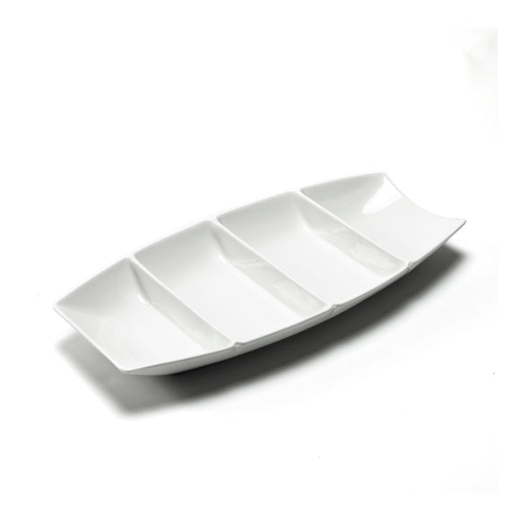 4-Compartment Boat Plate Deep 12