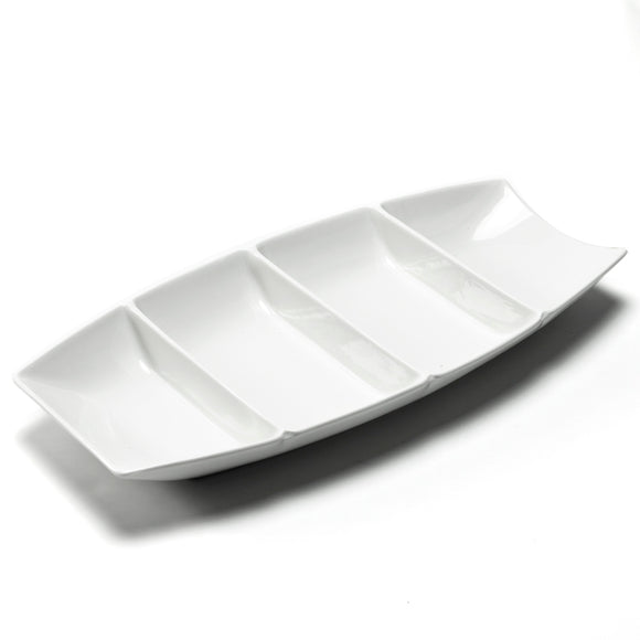 4-Compartment Boat Plate Deep 15