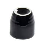 "Sake Cup 2""H, Black Ceramic"