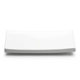"9-1/2""x4-1/4"" Rectangular Plate, White Ceramic"