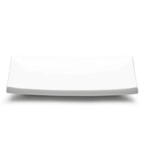 "13 1/2""x6"" Rectangular Plate, White Ceramic"