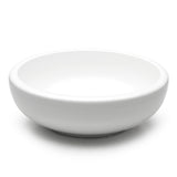 "9-1/4"" Round Noodle Bowl, White Ceramic"