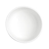 "4.5""D Round Bowl, White Ceramic"
