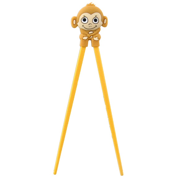 Kids Chopstick Monkey, Yellow Brown