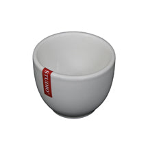 "2-1/2""H Tea Cup, White Ceramic"