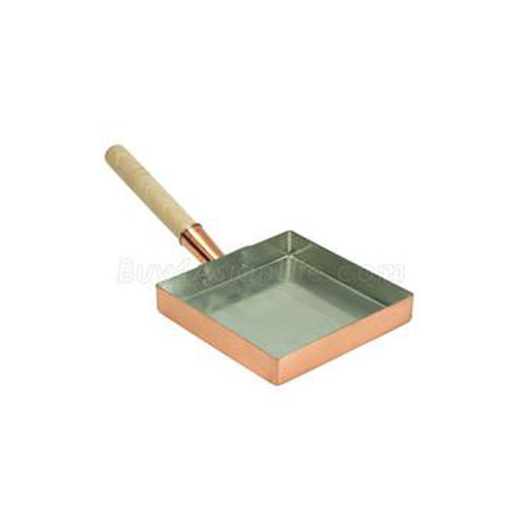 Egg Pan Copper 8-1/4