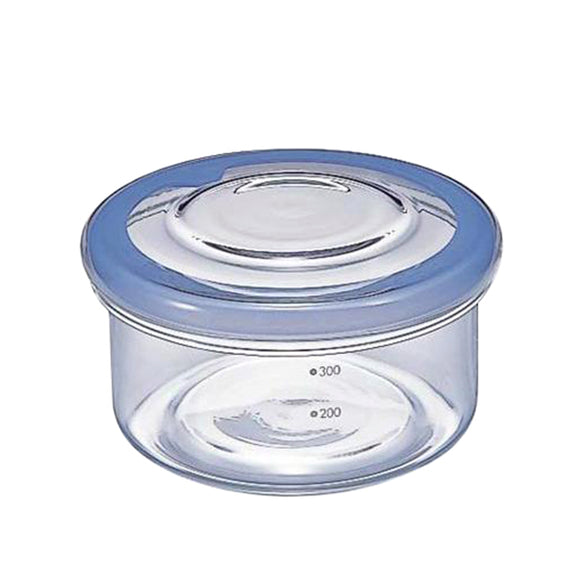 HARIO Cycle Ware Glass Container 400ml, Blue