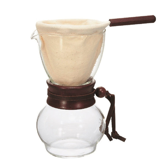 HARIO Coffee Drip Pot Wood Neck 240ml/480ml